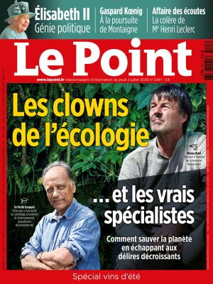 Couverture du Point N° 2497 du 02 juillet 2020