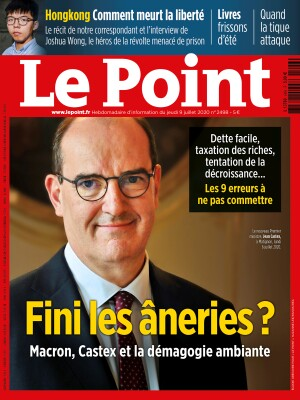 Couverture du Point N° 2498 du 09 juillet 2020
