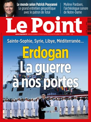 Couverture du Point N° 2499 du 16 juillet 2020