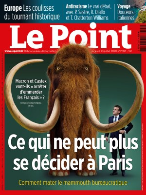 Couverture du Point N° 2500 du 23 juillet 2020