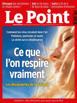 Couverture du Point N° 2501 du 30 juillet 2020