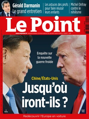 Couverture du Point N° 2502 du 06 août 2020