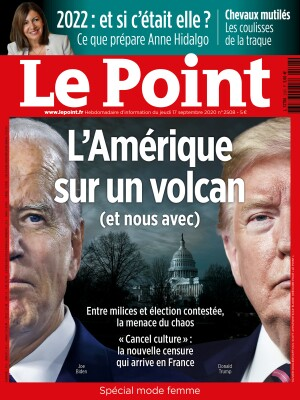 Couverture du Point N° 2508 du 17 septembre 2020