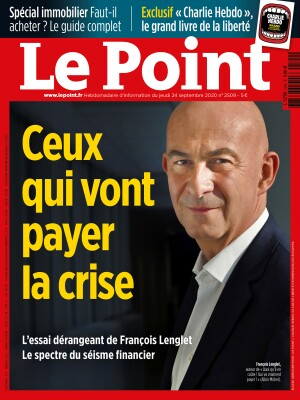 Couverture du Point N° 2509 du 24 septembre 2020