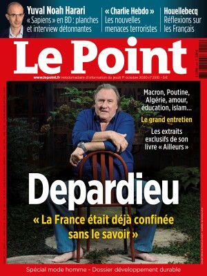 Couverture du Point N° 2510 du 01 octobre 2020