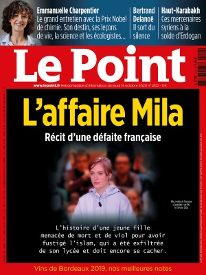 Couverture du Point N° 2512 du 15 octobre 2020