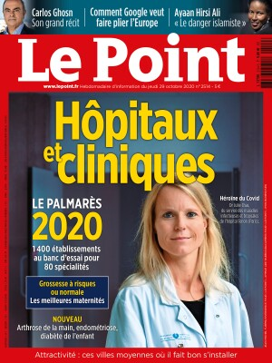 Couverture du Point N° 2514 du 29 octobre 2020