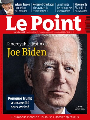 Couverture du Point N° 2516 du 12 novembre 2020