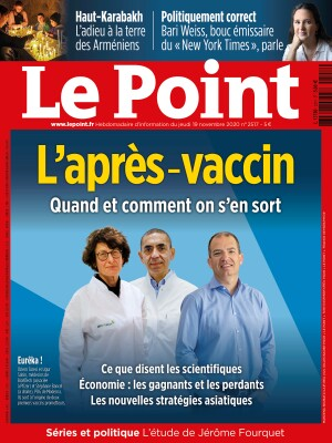 Couverture du Point N° 2517 du 19 novembre 2020