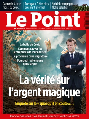 Couverture du Point N° 2519 du 03 décembre 2020