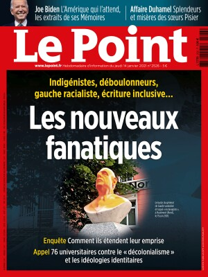 Couverture du Point N° 2526 du 14 janvier 2021