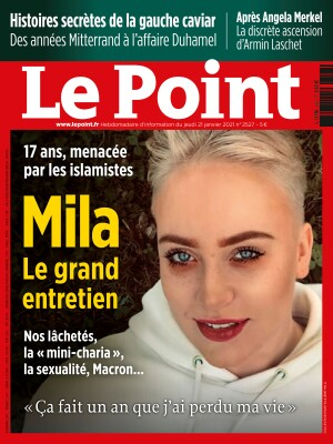 Couverture du Point N° 2527 du 21 janvier 2021