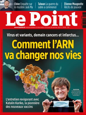 Couverture du Point N° 2528 du 28 janvier 2021