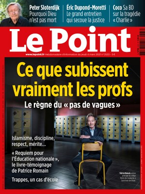 Couverture du Point N° 2533 du 04 mars 2021