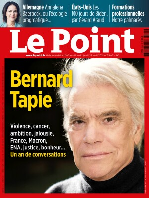 Couverture du Point N° 2540 du 22 avril 2021