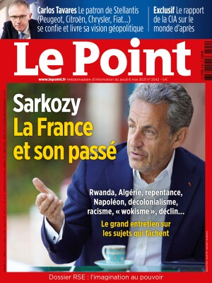 Couverture du Point N° 2542 du 06 mai 2021