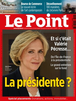Couverture du Point N° 2543 du 13 mai 2021