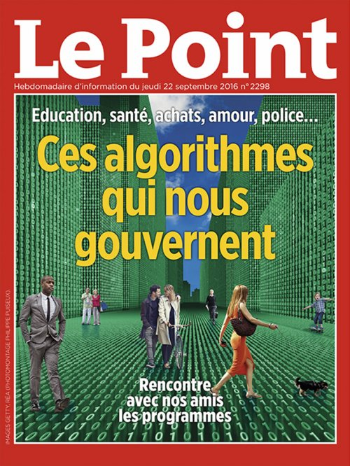Couverture du Point N° 2298 du 22 septembre 2016