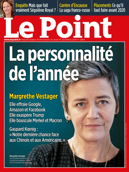 Margrethe Vestager, la personnalité de l'année