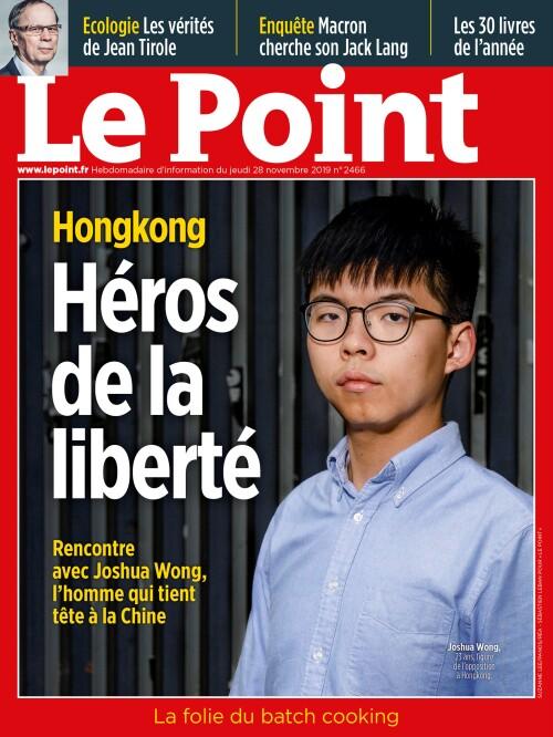 Rencontre avec un héros de la liberté : Joshua Wong