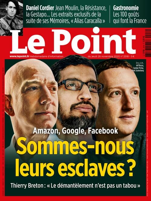 Amazon, Google, Facebook : sommes-nous leurs esclaves ?