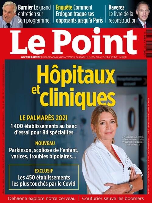 Hôpitaux et Cliniques, le palmarès 2021