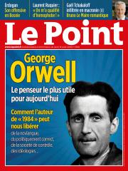 En couverture : George Orwell, le penseur qui va vous libérer