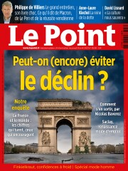 Couverture du Point N° 2538 du Jeudi 08 avril 2021