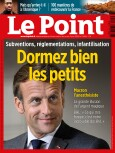 Couverture du Point N° 2493.