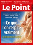 Couverture du Point N° 2501.