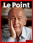 Couverture du Point N° 2520.