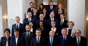 Le premier gouvernement de l\'ère Macron