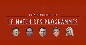 Présidentielle : le match des programmes